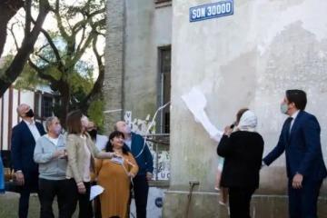 """""""Son 30 mil"""", la primera de las calles que rodean a la ex Esma en cambiar de nombre"""