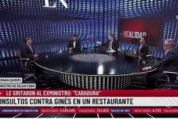 """""""Decir ´robar la vacuna` es un poco fuerte"""": Quirós expuso la militancia de Jonatan Viale en el caso Ginés"""