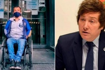 Milei denunciado por denigrar públicamente a personas con discapacidad