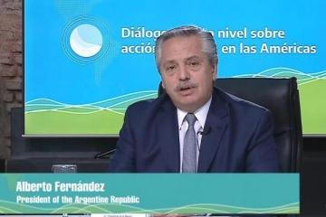 """Alberto Fernández: """"Necesitamos Justicia Social Ambiental, es el nuevo nombre del desarrollo en nuestra región"""""""