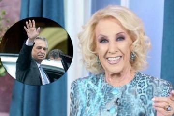 """""""Dios mío"""": qué dijo Mirtha Legrand sobre la crisis del FDT y el pedido a Alberto de una """"cadena nacional"""""""