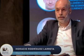 Con críticas a la macroeconomía, Larreta inicia su gira internacional hacia 2023