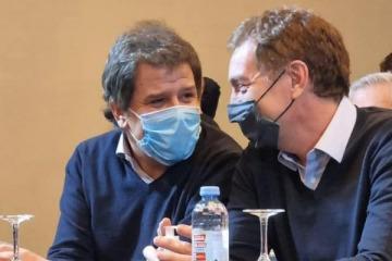 Santilli confirmó que debatirá con Tolosa Paz y apuesta a mantener la ventaja mostrándose con Manes