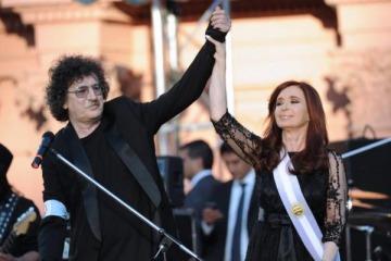 Cristina saludó a Charly García por su cumpleaños número 70 y dejó una perlita