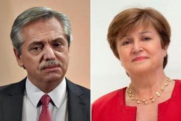 Alberto Fernández viaja a Europa por la cumbre del G20 en Roma y se reúne con Georgieva en Roma