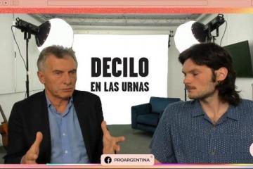 """Macri dijo en Twich que """"no espió a los familiares del ARA San Juan, ni a nadie en su gobierno"""""""